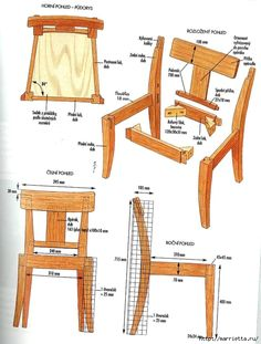 Элегантный дубовый стул своими руками (11) (531x700, 233Kb)