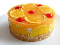 tarifim mevsime uygun - bol portakal aromalı-oldukça hafif -hem ekonomik hemde pratik ayrıca çokta şık - chesscake tarzında pasta lez...