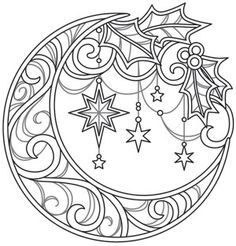 super Ideas for embroidery patterns christmas urban threads Free Adult Coloring, Adult Coloring Book Pages, Printable Adult Coloring Pages, Christmas Coloring Pages, Coloring Pages To Print, Colouring Pages, Coloring Sheets, Coloring Books, Wood Burning Patterns