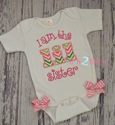 I am the lil Sister Applique And Embroidery Design For Machine Embroidery INSTANT DOWNLOAD now available