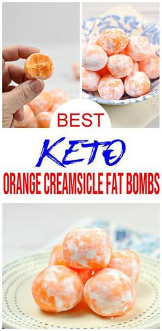 Ketogenic Diet For Beginners, Ketogenic Recipes, Low Carb Recipes, Healthy Recipes, Orange Creamsicle, Keto Bombs, Nutrition, Fat Foods, High Fat Keto Foods