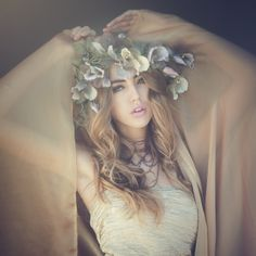 GYPSY~ Flower crown — Fiori Couture