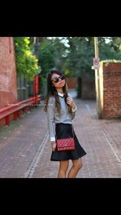 . School Uniform Fashion, How To Make, Style, Swag, Stylus