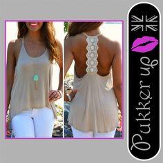Women Summer Sexy Sleeveless Casual Loose Halter Tank Tops Vest Shirt Blouses GN