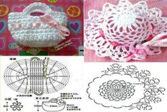 Giovanna Mimmo's media content and analytics Crochet Chart, Crochet Patterns Amigurumi, Crochet Stitches, Knitted Dolls, Crochet Dolls, Crochet Baby, Crochet Coin Purse, Crochet Angels, Sewing Toys