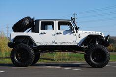 2009 jeep jk with a twin turbo cummins under the hood got to build me one Jeep 4x4, Jeep Truck, Jeep Wrangler Jk, Jeep Wrangler Unlimited, E90 Bmw, Badass Jeep, Big Trucks, Lifted Trucks, Muddy Trucks