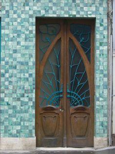 https://flic.kr/p/bXULDs | Pharmacie Rosfelder (1902) - 12 rue de la Visitation, Nancy (54) | Architecte Emile André