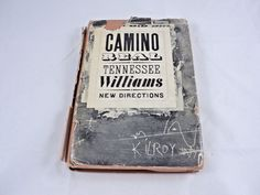 VINTAGE CAMINO REAL BY TENNESSEE WILLIAMS 1953 FIRST EDITION HARDCOVER