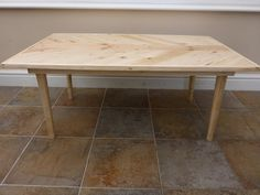 Herringbone Design Coffee Table 100% Reclaimed by GetOnYourUpCycle