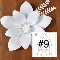 YAF templates are your master copy templates to help you make your paper flowers and are mailed to your home. They are made of a beautiful pearl shimmer heavy cardstock. Create as many paper flowers as you want for your next event. Paper Flowers Craft, Large Paper Flowers, Paper Flower Backdrop, Flower Crafts, Diy Flowers, Paper Crafts, Diy Crafts, Pot Mason Diy, Mason Jar Crafts