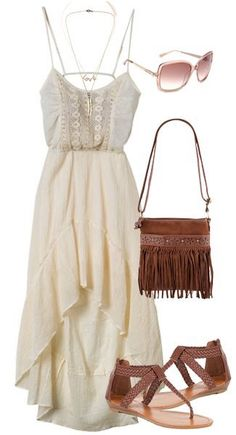 Everything except the fringe purse