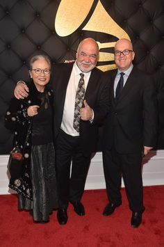 Peter Erskine Photos Photos - Producer Peter Erskine (C) and guests attend The 59th GRAMMY Awards at STAPLES Center on February 12, 2017 in Los Angeles, California. - The 59th GRAMMY Awards -  Red Carpet