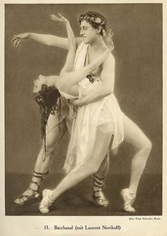 Ernst Schneider, Anna Pavlova, Laurent Novikoff, Bacchanal | Flickr - Photo Sharing!
