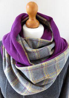 323c3f3b67776 Designer made limited edition wool-mix tartan by AmberLolaDesigns Echarpe,  Tartan, Fausse Fourrure