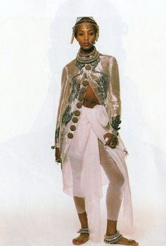 Naomi Campbell, 1994 - Steven Meisel.