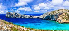 Conde Nast Traveller: Τα 14 καλύτερα ελληνικά νησιά | HuffPost Greece Samos, Santorini, Outdoor, Colors, Old Windmills, Weather And Climate, Greek Islands, Outdoors, Colour
