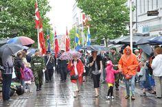 6. julifest i silende regn - 2012