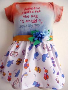 Funny Baby Dress Tie Dyed In Size 3