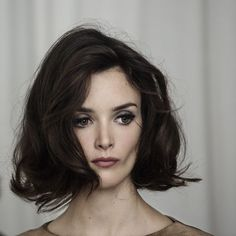 15 Popular Brunette Bob Hairstyles - The Hairstyler My Hairstyle, Pretty Hairstyles, Bob Hairstyles, Simple Hairstyles, Good Hair Day, Great Hair, Amazing Hair, Bob Braun, Vintage Hairstyles