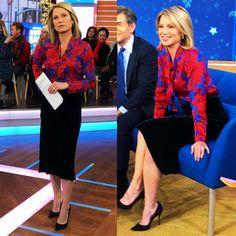wears blue velvet skirt and top. Tops, Skirts, How To Wear, Velvet Skirt, Blue Velvet, Style, Blue Velvet Skirt, Amy, Fashion