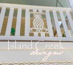Decorative PVC Vinyl Exterior Trim in Coastal Themes, Caribbean Styles, Key West Styles & Beach Themes