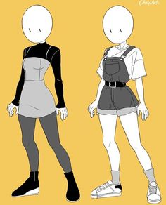 Aesthetic clothes or outfit this took so long but i enjoy making it, i hope you like it owo comment for more anatomy, poses or clothes… Anime Outfits, Mode Outfits, Anime Inspired Outfits, Girl Outfits, Fashion Design Drawings, Fashion Sketches, Kleidung Design, Clothing Sketches, Drawing Clothes