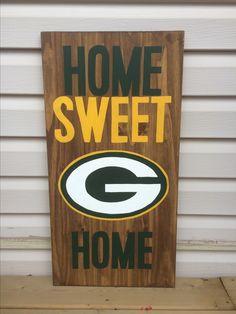Green Bay NFL wood decor
