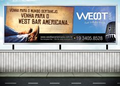 Outdoor para o West Bar Americana