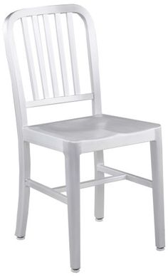 Eur Style Caf Slat Back Side Chair in Matte Aluminum Set of 2 >>> Check this awesome product by going to the link at the image.