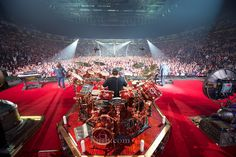Manchester UK - RushBackstage