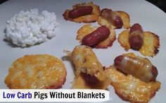 Low Carb Pigs without blankets | TravelingLowCarb.com - Low Carb Diet Tips for Busy People