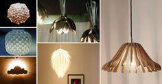 Artesanato Casa e Dicas: 20 maneiras de fazer lindos lustres com objetos do...