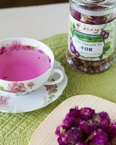 Thirsty For Tea Tian Hu Shan's Globe Amaranth Tea