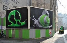 Juxtapoz Magazine - Ludo x Ox Paris Billboards