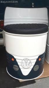 Bilderesultat for oil drum seat
