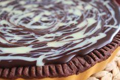 karolina-azzaro: Rebarborovo- čokoládový Tart