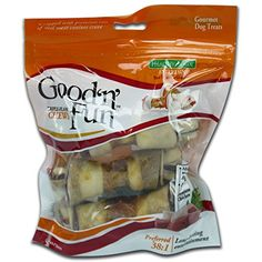 Healthy Hide Good N Fun 3-Pack Pork/Beef and Chicken Bones Treat, 4-Inch -- You can get more details by clicking on the image.