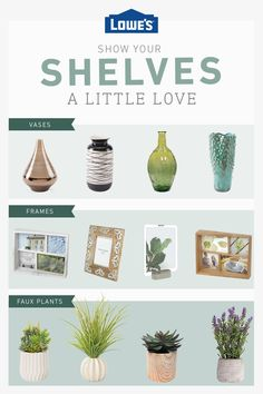We have all your shelf decor options, from the perfect frame to faux plants. Diy Gifts For Men, Easy Diy Gifts, Outdoor Shelves, Aztec Decor, Diy Nightstand, Small Room Design, Faux Plants, Coastal Cottage, Living Room Sets