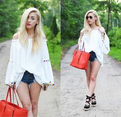 Get this look: http://lb.nu/look/8334001  More looks by Aneta M: http://lb.nu/anetaaneta  Items in this look:  Blouse   #bohemian #casual #street