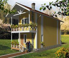 House plan by AkvilonPro          BORIS          sq m Two storey house    House plan by AkvilonPro          CHIZIK         М² Two storey house
