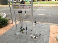 Community Bike Repair Station in Brisbane