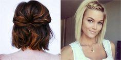 26 peinados fáciles para media melena y algunos tutoriales