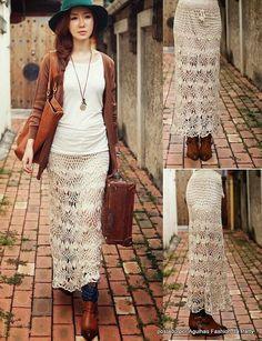 Falda de grampo