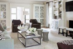 Pleasant Valley - contemporary - family room - little rock - Tobi Fairley Interior Design