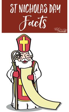 Nicholas Day Facts & Coloring Page – Life of a Homeschool Mom Retro Christmas, Country Christmas, Christmas Christmas, Frugal Christmas, Christmas Jesus, Primitive Christmas, Christmas Crafts, St Nicholas Day, All Saints Day