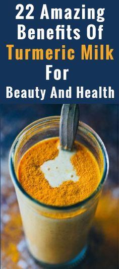 22 Amazing Benefits Of Turmeric Milk (haldi Doodh) For Beauty And Health - Tips Life Mega Holistic Remedies, Skin Care Remedies, Health Remedies, Home Remedies, Natural Remedies, Holistic Healing, Herbal Remedies, Turmeric Milk Benefits, Coconut Health Benefits