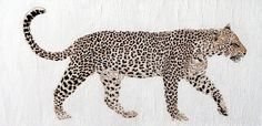 Title  On The Prowl   Artist  Stephanie Grant   Medium  Painting - Acrylic And Ink On Canvas