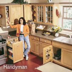 Kitchen Storage Projects That Create More Space
