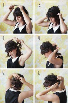 Low Tuck Up-do . Delightfully Tacky: hair and beauty