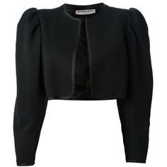 Saint Laurent Cropped Bolero Jacket